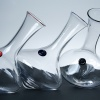 Rolling Red Wine Decanter - Crystallo - Red, Midnight Blue, and Black